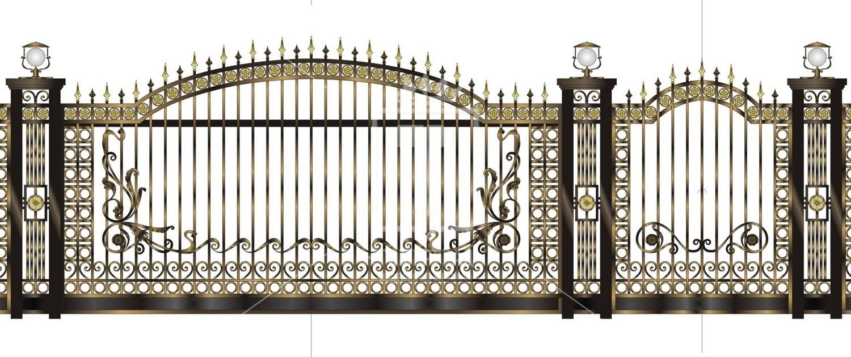 Hàng rào nhôm đúc BG001