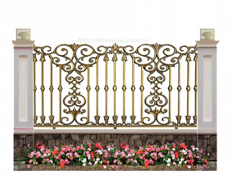 Hàng rào nhôm đúc BG1002