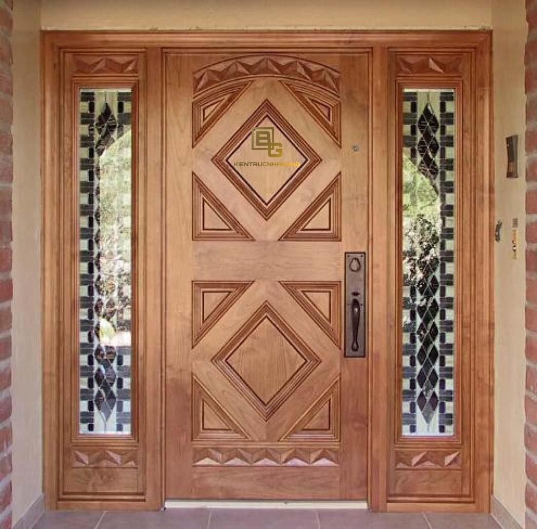 Mẫu cửa gỗ BG 6611
