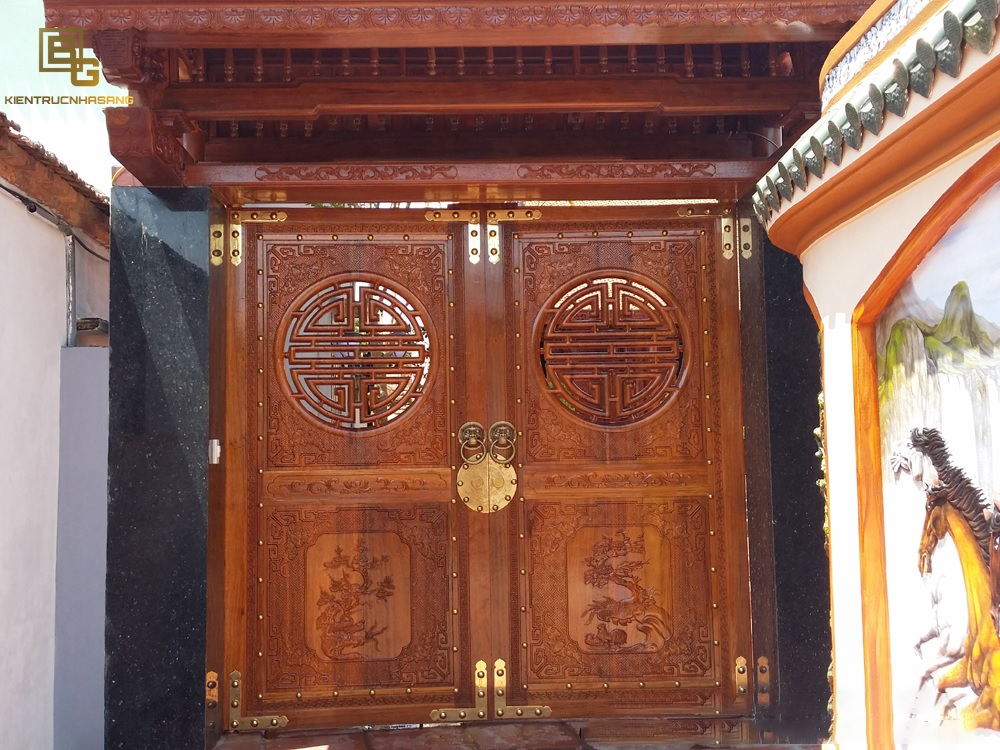 Mẫu cửa gỗ BG 6633