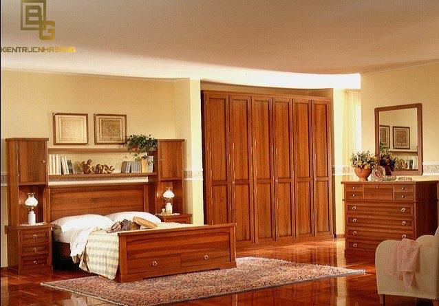 Mẫu nội thất gỗ phòng ngủ BG9121
