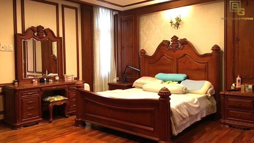 Mẫu nội thất gỗ phòng ngủ BG9125