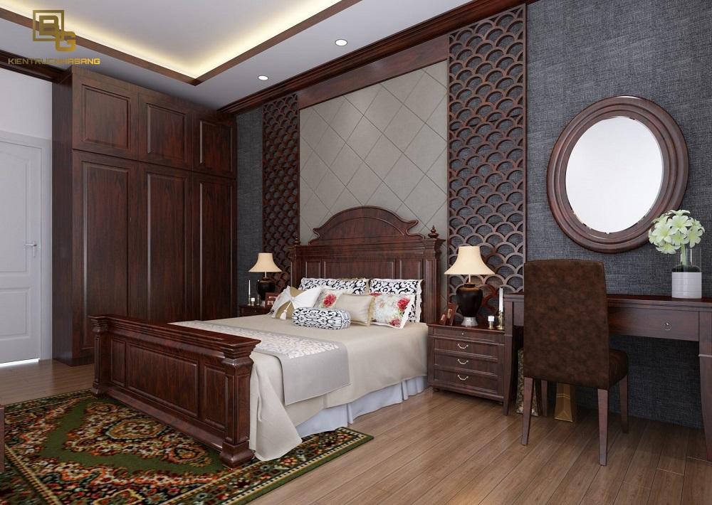 Mẫu nội thất gỗ phòng ngủ BG9129