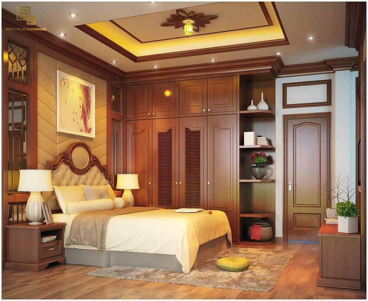 Mẫu nội thất gỗ phòng ngủ BG9666