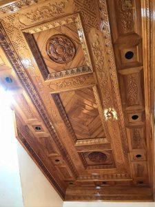 Mẫu trần gỗ BG22