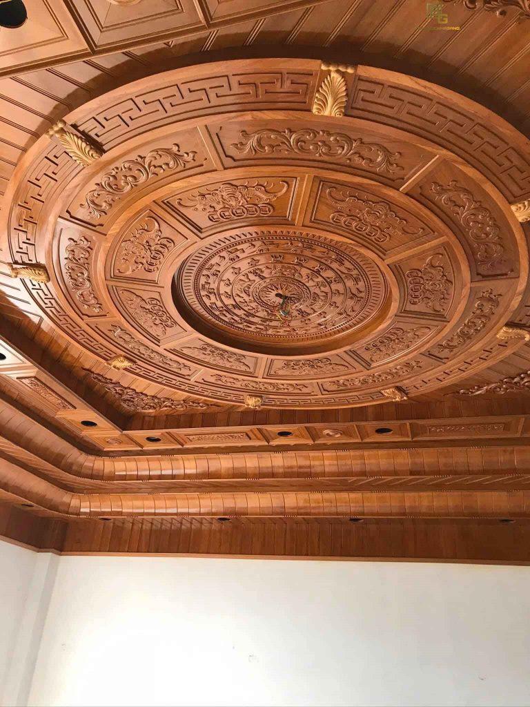 Mẫu trần gỗ BG2213