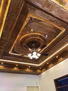 Mẫu trần gỗ BG2215
