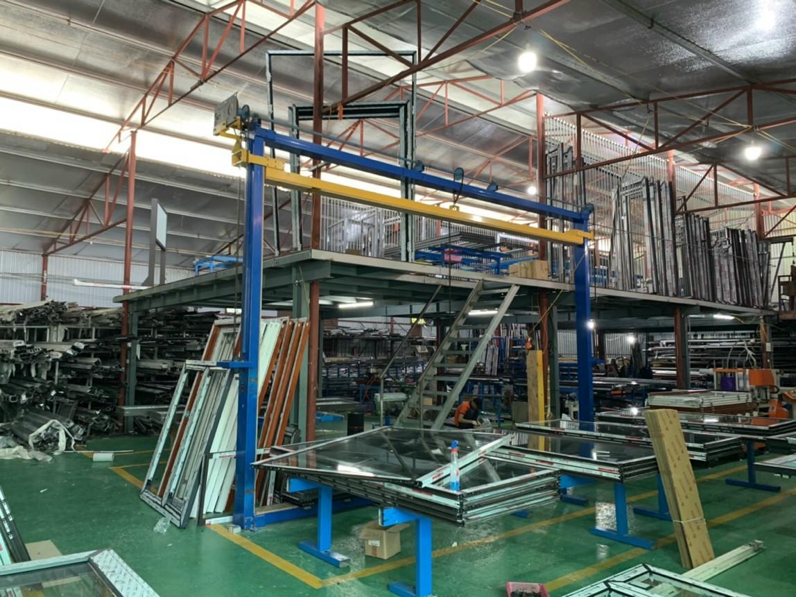 Xưởng sản xuất Nhôm Kính Bùi Gia
